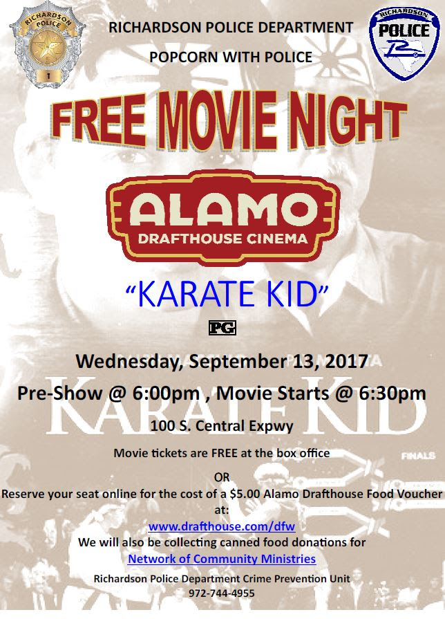 Karate Kid at Alamo Drafthouse