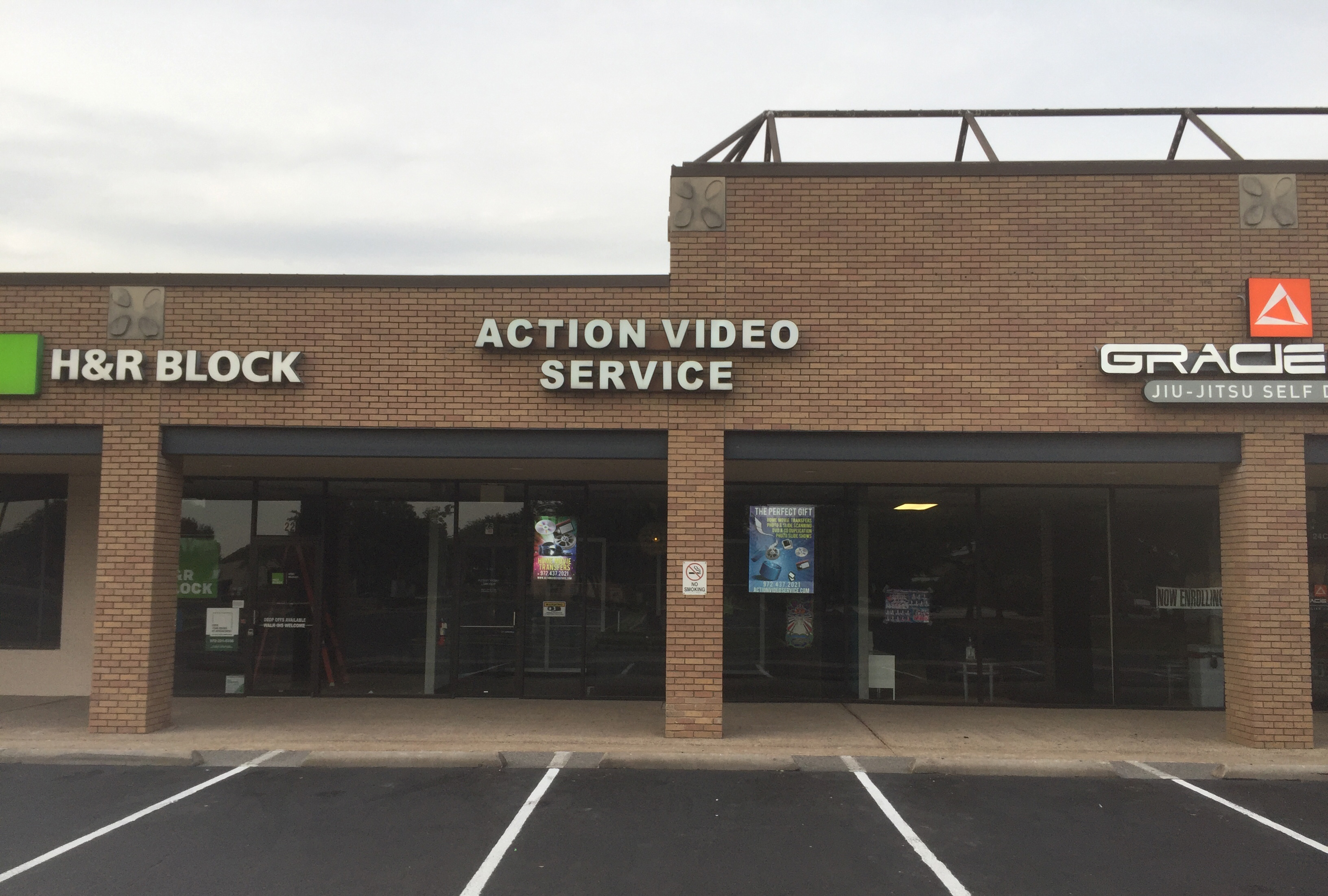 Action Video Service storefront